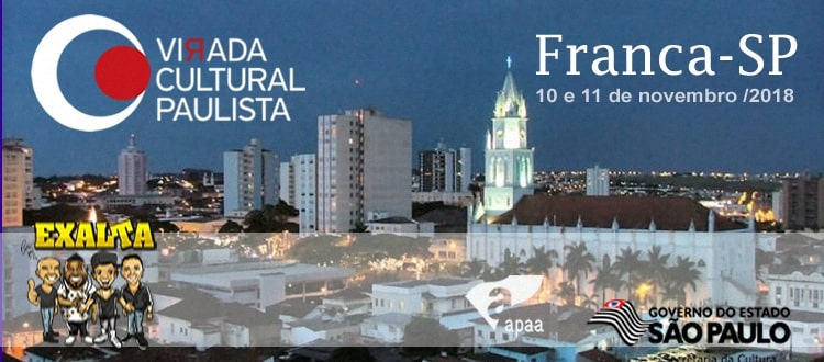 EXALTASAMBA NA VIRADA CULTURAL EM FRANCA-SP
